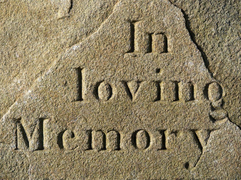 In loving memory, R.I.P. ,muerte , duelo
